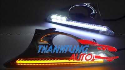 Ốp đèn gầm Led cho xe Camry 2012 - 2014 có xi nhan