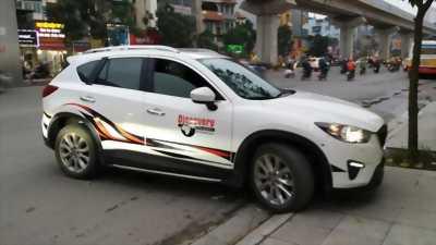 Dán tem xe oto cho xe Mazda CX5