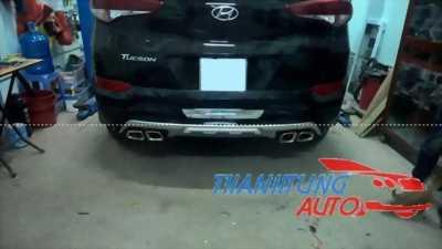Độ pô cho xe Mazda6 2015 mẫu BMW serie 7