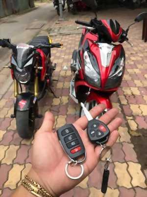 Khóa chống trộm OKS sử dụng bằng remote oto Audi - Camri