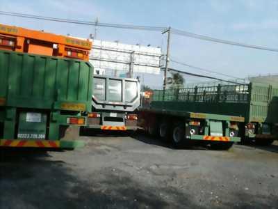 Bán mooc-sàn-31.8 tấn-hiệu Doosung, chuyên chở container