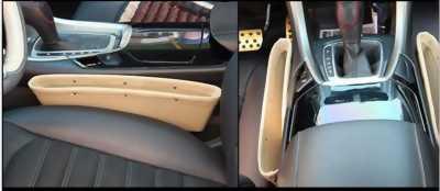Giỏ da để đồ trên ô tô
