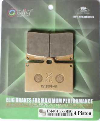 BỐ THẮNG (má phanh) SINTERED / ELIG EM004 FOR DUCATI