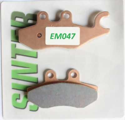 BỐ THẮNG (má phanh) SINTERED / ELIG EM047 FOR HONDA