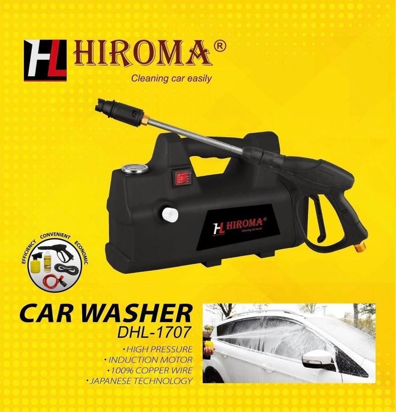 Máy rửa xe áp lực cao chính hãng HIROMA MODEL