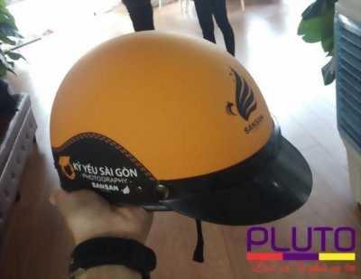 xưởng sản xuất mũ bảo hiểm quảng cáo