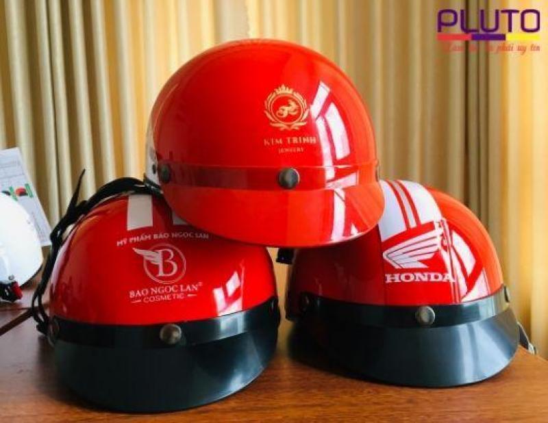 Mũ bảo hiểm in logo uy tín ở TPHCM