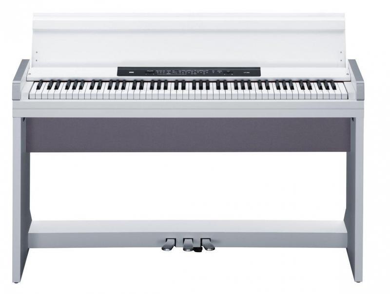 Đàn piano điện LP-350 màu trắng tinh tế nhỏ gọn