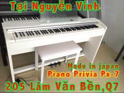Piano privia px-7we phím nặng chuẩn trọn bộ