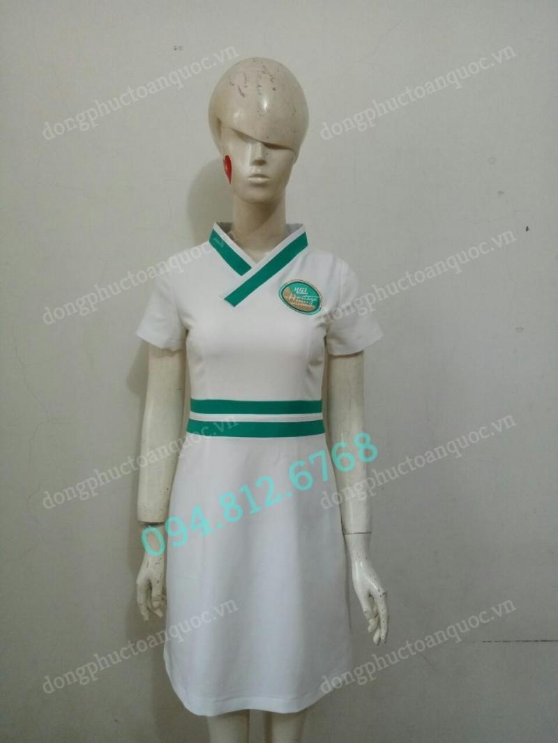 May đồng phục Spa tại Hà Nội, chất lượng tốt, mẫu tùy chọn