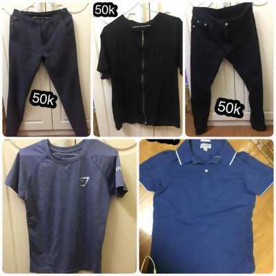 Thanh lý quần bò, quần âu, áo nam 50k