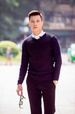 Áo len thời trang Nam - 21576A ( Black)