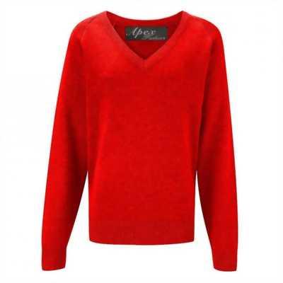 Áo len nam thời trang 21574A (Red)