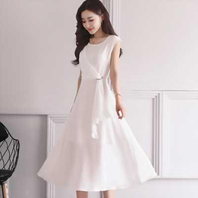 Bán Váy voan trắng