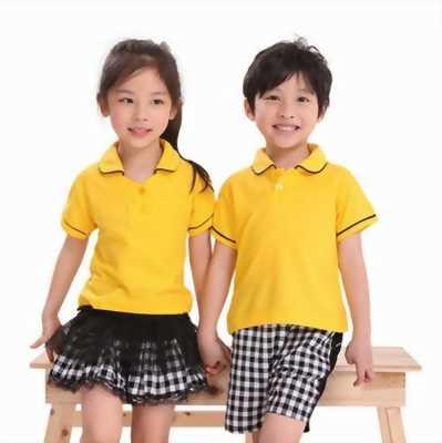 May đồng phục mầm non giá rẻ cho bé