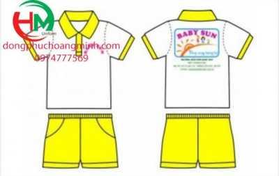 Đồng phục mầm non Baby Sun Nam