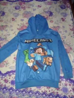 Áo Minecraft chất liệu cao... Đồ trẻ em mới...