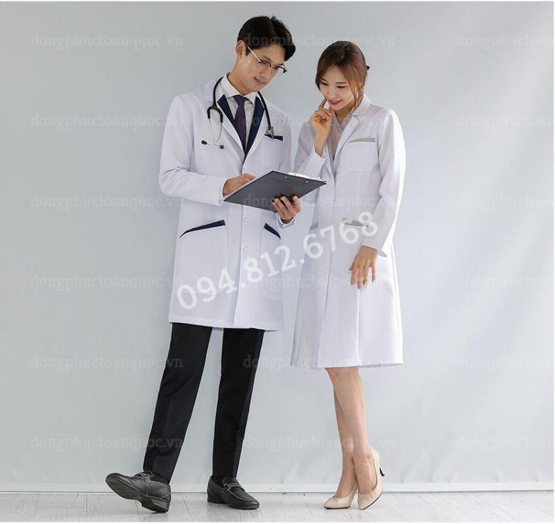 Nhận may đồng phục bác sỹ số lượng ít theo yêu cầu - Giá tận xưởng lấy nhanh