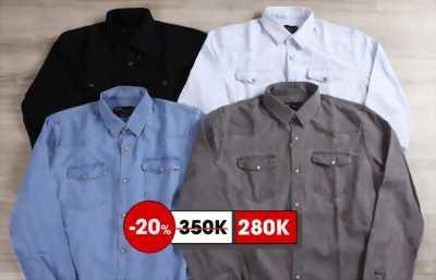 Áo khoác denim đen Size XL