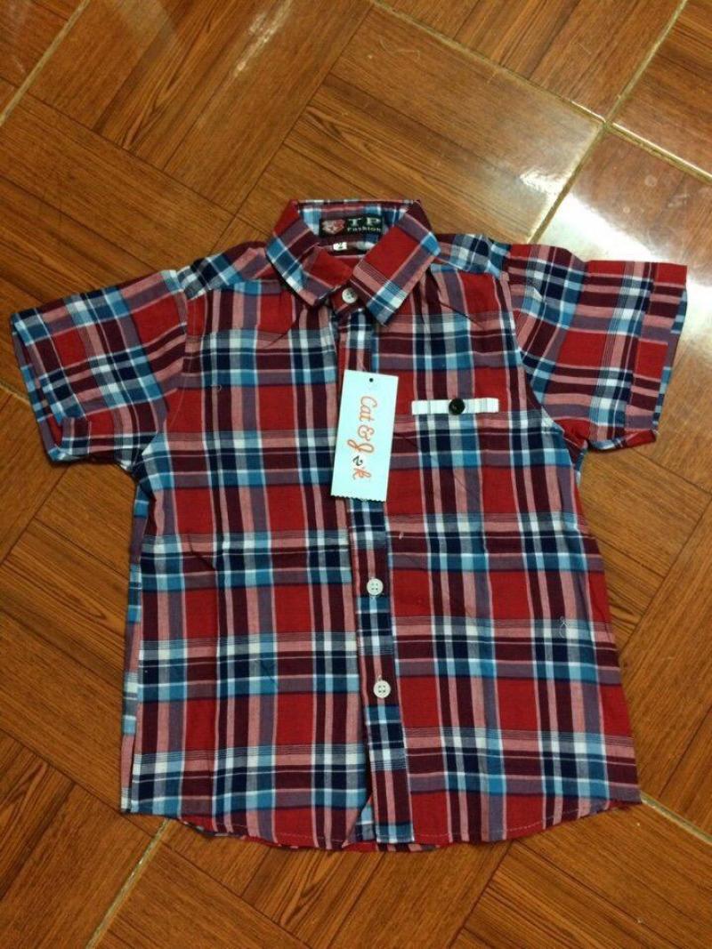 Sỉ áo chemise bé trai giá rẻ toàn quốc