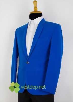 Bán áo Vest màu xanh hiệu Canifa