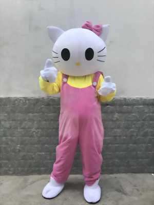 Mascot mèo kitty,bán mascot kitty dễ thương