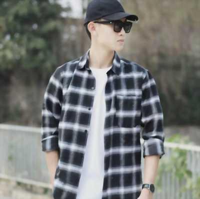 Bán áo sơmi nam caro size 40 tại Hoàn Kiếm, Hà Nội