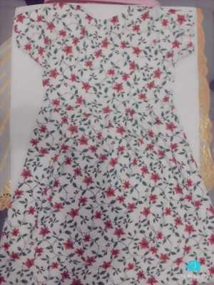 Váy cotton dành cho các bé gái cao từ 0.75-0.9m.
