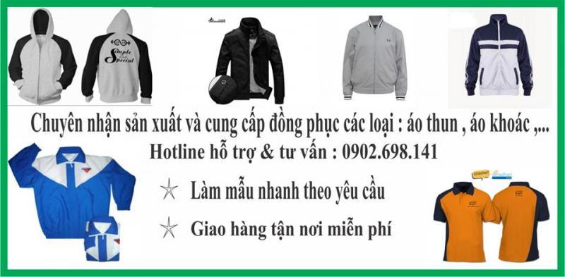 Xưởng may áo khoác tại quận Tân Bình, Tp hcm