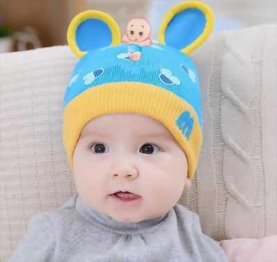 Nón Len Cho Bé Tai Chuột Mickey