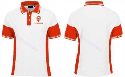 may áo thun đồng phục bình dương có in và thêu logo công ty