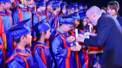 may lễ phục tốt nghiệp trạng nguyên mầm non