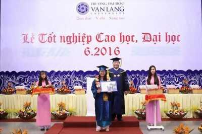 lễ phục tốt nghiệp đại học văn lang