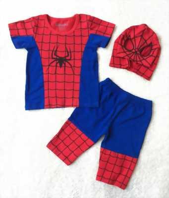 Bán đồ người nhện cho bé trai