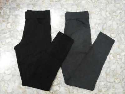 Quần legging trơn 2 túi