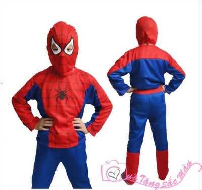 Quần áo người nhện cho bé