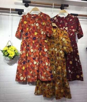 Đầm hoa hàng quảng châu