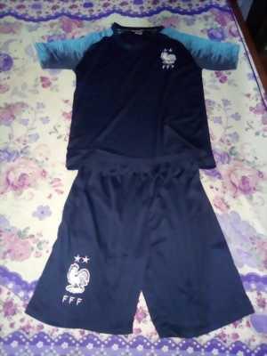 Áo bóng đá pháp 2019,...Áo trẻ em chất liệu cao vải mát