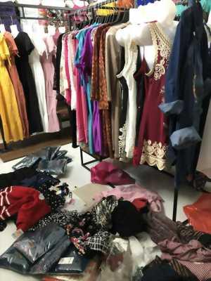 Áo thun xuất khẩu, váy đầm thời trang tại Quận 8