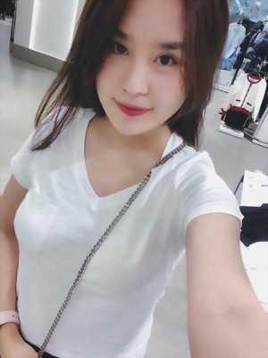 Áo phông nữ PB ngắn tay cổ tim trơn thời trang VNXK cao cấp cực hot