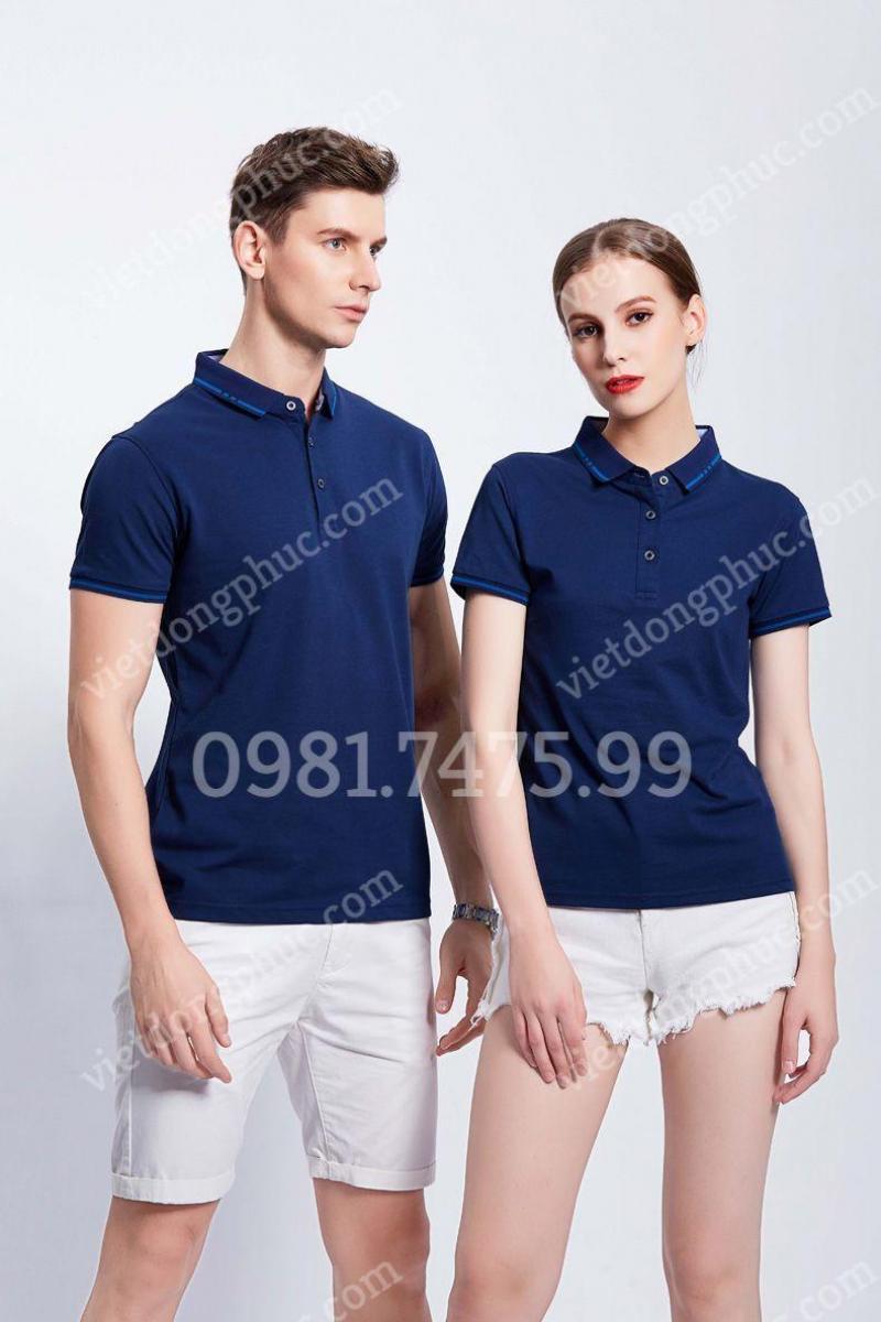 Địa chỉ may áo thun đồng phục kiểu dáng thời trang, trẻ trung, giá sốc