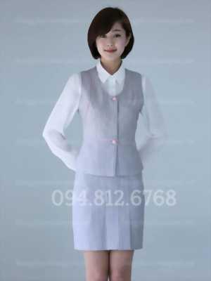 Chuyên may đồng phục áo gile nữ đồng phục giá rẻ, giao hàng Toàn quốc