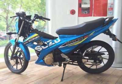 Suzuki Raider. xanh 2014