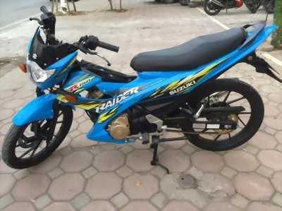 Suzuki Raider màu xanh 2014