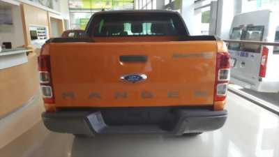 Bán xe Ford Ranger Wildtrak màu cam