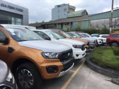 FORD WILDTRAK 2019 màu cam , biturbo .