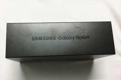 Samsung galaxy note 9 mới 100% + bộ quà tặng ở Đà Nẵng