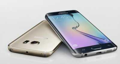 Bán Samsung S6 Edge Vàng 32 GB , mới nguyên zin