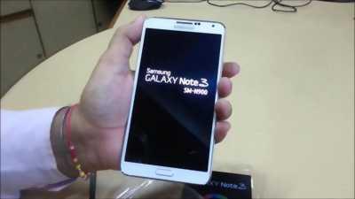 Samsung Galaxy Note 3 Đen 32 GB giá rẻ