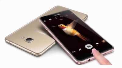 Samsung Galaxy C9 Pro 64 GB đen
